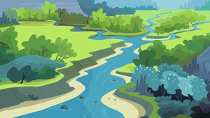My Little Pony Landscape Background 1# by J-J-Bases