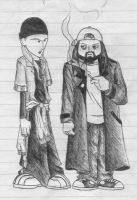 Jay and Silent Bob by johnny-v5-0