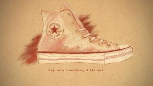 """Step Into Something Different"" Converse by dhosford"