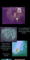 UNDERTALE:  Flowey comic by LadyYonder