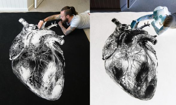 Inverted SALT heart by AtomiccircuS