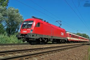 OBB 1116 with Euregio train by morpheus880223
