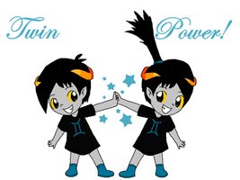 Twin Power! by Rotommowtom