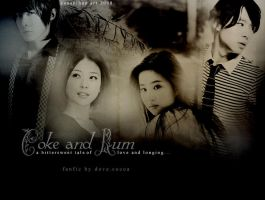 Coke and Rum by EUNSHIHAE