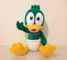 Tiny Toons Baby Plucky Duck by telshira