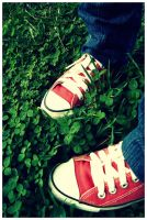 red shoes by RothermRebeka