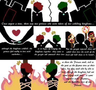 The Love In Flames by SepticPlierWaffles