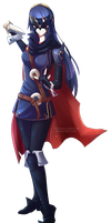 Lucina, Fire Emblem by TheShadowedGrim