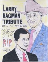 Dallas: A tribute to Larry (J.R.) Hagman (Color) by RoyPrince