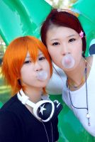 LOVELY COMPLEX-Blowing bubbles by weiaihyde