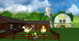 MMD Newcomer Chocobo + DL by Valforwing