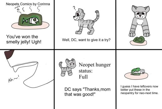 Neopets comics smelly jelly by CorinnaAngela