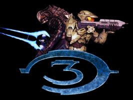 Halo 3 Duo by ladyrheena