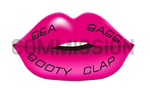 Seabass Booty Clap CD single cover by dragoonx77