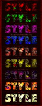 color text styles by Lyotta