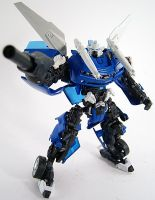 Custom Autobot Tracks Transformer action figure by firebladecomics