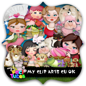 My clip arts pack by Pacitubes