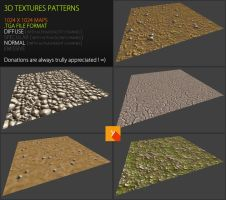 Free Textures Pack 64 by Nobiax