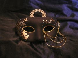 The Mask for Lady Delphinia by Alpanu