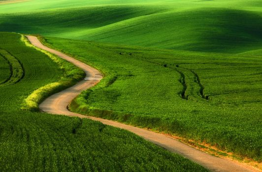 Road to nowhere by PawelUchorczak