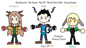 035 - Young Avengers by oantotodile