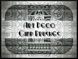 Art Deco GIMP Brushes by Jedania