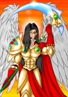 Bishangel Michael by Gothic-Archangel