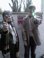 AD 2012 - 4th and 11th doctor by Wolf-girl-Alchemist9