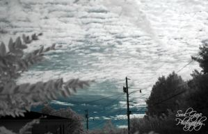 Infrared Clouds by GothicAmethyst