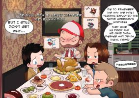 A Supernatural Thanksgiving by KamiDiox