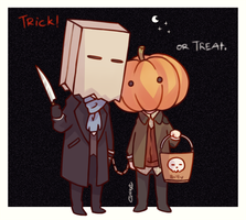 TrickorTreat~ by GorryBear