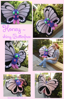 Life sized Butterfree Plush by Fox7XD