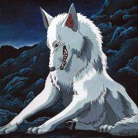 Princess Mononoke Wolf by seYca
