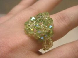 Crystal Cocktail Ring by mormongirlbyu