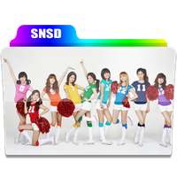 SNSD Rainbow Folder by revenantSOULx3