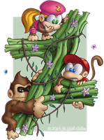 The Kongs' devVINE by kjsteroids