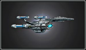 Renown Class Command Cruiser by Andared