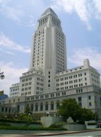 Los Angeles City Hall by Foxy-Lady-Jacqueline