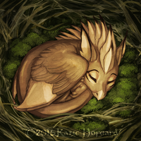 Moss Nest by Shadow-Wolf