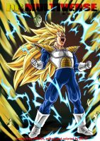 Vegeta U13 SSJ3 (uninjured) by BK-81