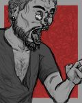 Zombie Dude by jaffaanonymous