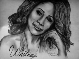 Whitney Houston by AlyssiaJayde
