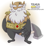 Pokemon Albion Region: #??? Tolkiln by sweetkimothy