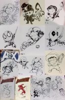 Heroes Con Sketches '12 by Truxillogical