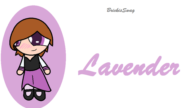 Lavender-PPG-BrickisSwag by BrickisSwag