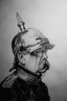 Bismarck by DamnedWind