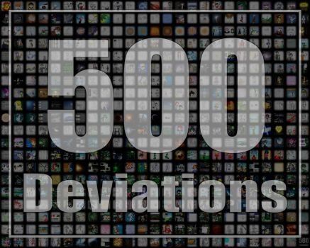 500 DEVIATIONS by GhostHead-Nebula