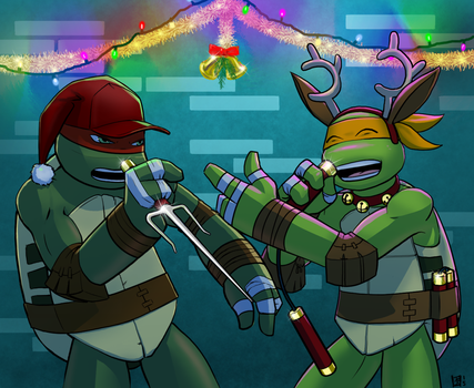 TMNT SS 2014 for juliefofisss by Pimpypants