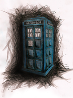 TARDIS by omorocco