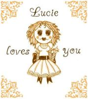 Lucie loves you by Floralis